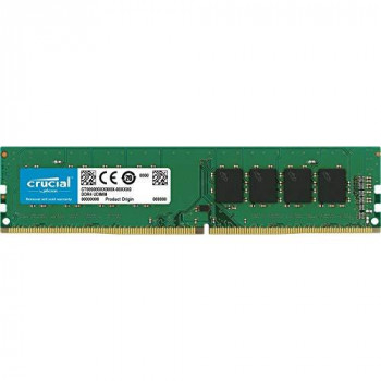 Crucial - DDR4 - module - 32 GB - DIMM 288-pin - 3200 MHz / PC4-25600 - CL22 - 1.2 V - unbuffered - non-ECC