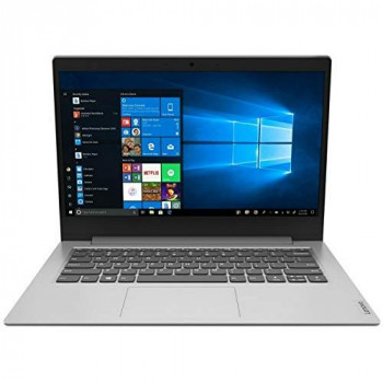 Lenovo IdeaPad 1i 14 Inch HD Laptop - (Intel Celeron N4020, 4 GB RAM, 64 GB eMMC, Windows 10 Home S Mode) - Platinum Grey