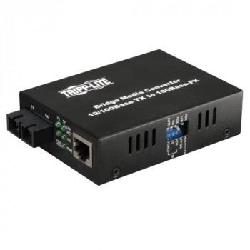 Tripp Lite N784-001-SC External Multimode Media Converter 10/100 FX/TX SC/RJ45, 2km, 1300nm