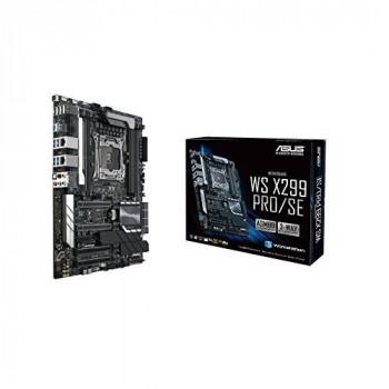 ASUS WS X299 PRO/SE 2066 Intel X299 DDR4 S-ATA 600 ATX Workstation Socket - Black
