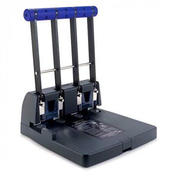Rapesco Heavy Duty 4-Hole Punch - 4400, 150-Sheet Capacity
