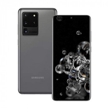 Samsung Galaxy S20 Ultra 5G Mobile Phone; Sim Free Smartphone - Cosmic Grey (UK version)