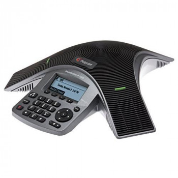 Polycom IP IP5000 Desk Phone SoundStation - Black