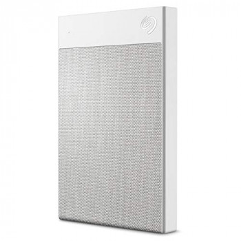 Seagate Backup Plus Ultra Touch (1TB) USB-C Portable Hard Drive External (White)