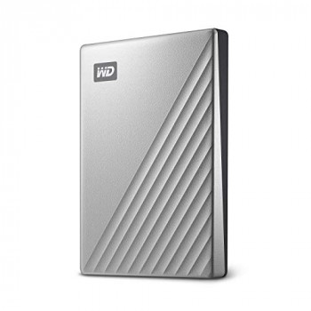 WD 1 TB My Passport Ultra, USB-C ready Silver