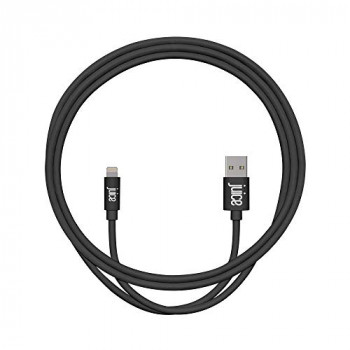 Juice Apple iPhone 11, Pro, iPhone X, Xr, iPhone 8, 7, 6, SE, iPad Lightning Charge & Sync Cable, 1m, Black
