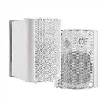 """VISION Professional Pair Active 5.25"""" Wall Speakers - LIFETIME WARRANTY - 2 x 30w (Program) - Bluetooth - RS-232 - Bluet"""