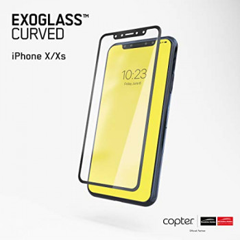 Copter Exoglass Curved Edition Black iPhone X/XS