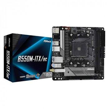 ASRock B550M-ITX/AC Supports 3rd Gen AMD AM4 Ryzen™ / Future AMD Ryzen™ Processors motherboard