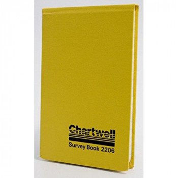 Exacompta Chartwell Field survey Book, 106 x 165 mm, Lined with 2 Lines