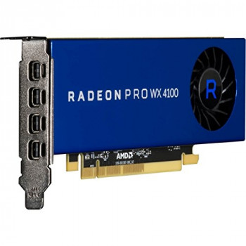 AMD - FIREPRO RADEON PRO WX 4100 4GB PCIE 3.0 16X 4X M-DP LP RETAIL IN