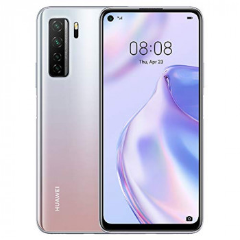 """HUAWEI P40 Lite 5G - 128 GB 6.5"""" Smartphone with Punch FullView Display, 64 MP AI Quad Camera, 4000 mAh Large Battery, 40W SuperCharge, 6 GB RAM, SIM-Free Android Mobile Phone, Dual SIM, Silver"""