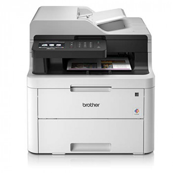 Brother MFC-L3710CW Colour Laser Printer | Wireless & PC Connected | Print, Copy, Scan & Fax | A4