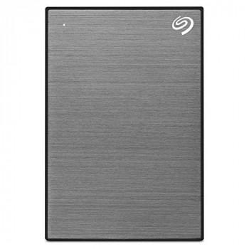 Seagate Backup Plus Slim 1TB Mobile External Hard Drive in Grey - USB2.0 & USB3.0