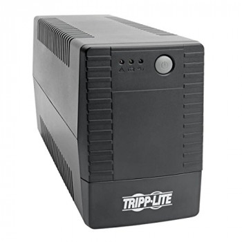Tripp Lite 650VA 360W Line-Interactive Tower UPS Battery Backup with 4 C13 Outlets and AVR (OMNIVSX650)