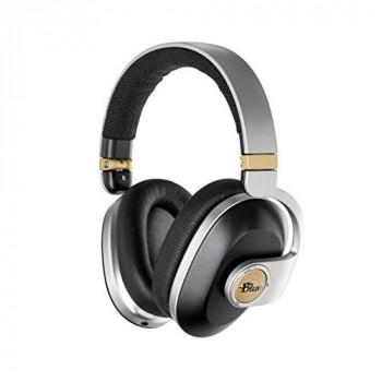 Blue Microphones satellite Premium Wireless Noise-Cancelling Headphones bith Audiophile Amp - Black