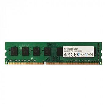 V7 V7106008GBD Desktop DDR3 DIMM Memory Module 8GB (1333MHZ, CL9, PC3-10600, 240 polig, 1.5 Volt)