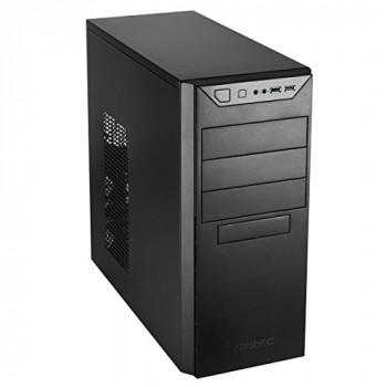 Antec VSK-4000B-U3/U2 Computer Case - Micro ATX, Mini ITX, ATX Motherboard Supported - Mid-tower - Steel - Black - 5 kg