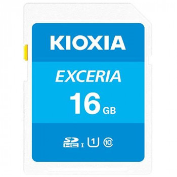 Kioxia 16GB Exceria U1 100 MBs Class 10 SD card