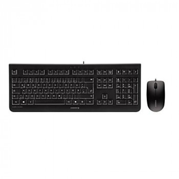 CHERRY DC 2000 Corded Keyboard/Mouse Set - Black
