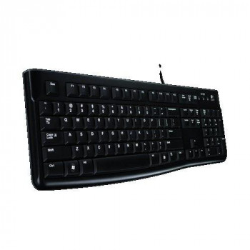 Logitech K120 Keyboard for Windows and Linux - QWERTY, UK Layout