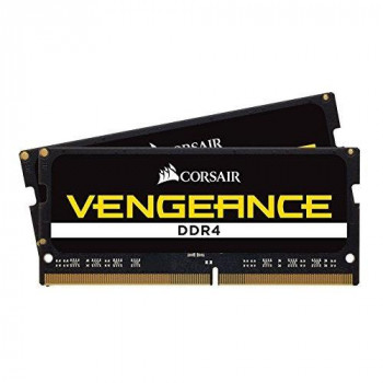 Corsair CMSX32GX4M2A2400C16 Vengeance 32 GB (2 x 16 GB) DDR4 2400 MHz C16 260 Pin SODIMM Laptop Memory Kit - Black