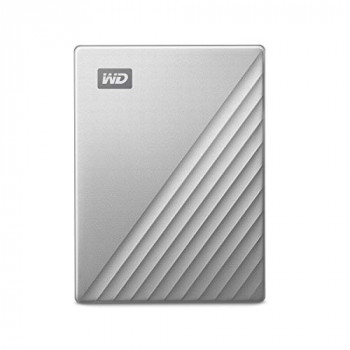 WD 2 TB My Passport Ultra for MAC, USB-C ready Silver