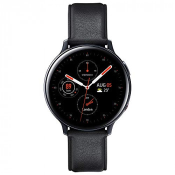 Samsung Galaxy Watch Active2 4G LTE Stainless Steel 44mm - Black (UK Version)