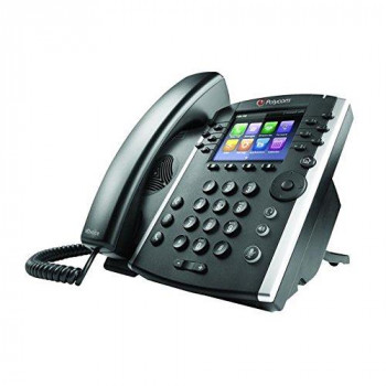 Polycom VVX 411 HD Business Media IP Desk Phone (No PSU)