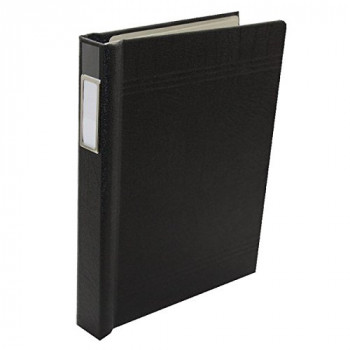 Rexel Twinlock Crown 3C Binders Black (Contains up to 200 Sheets)