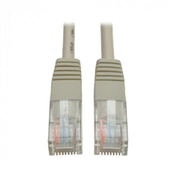 Tripp Lite Cat5e 350MHz Molded Patch Cable (RJ45 M/M) - Gray, 10-ft. - networking cables (10-ft., RJ-45, RJ-45, Male/Male, Cat5e, U/UTP (UTP), Grey)