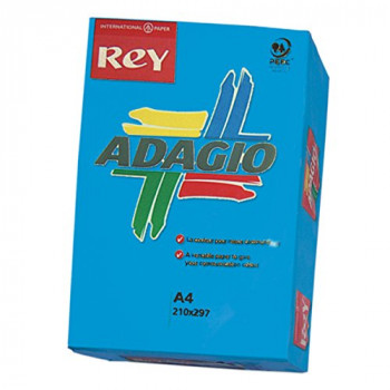 Adagio A4 80 GSM Rey Paper - Deep Blue (Pack of 500 Sheets)