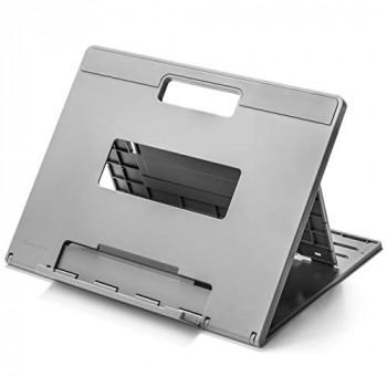 Kensington SmartFit Easy Riser Go Large Laptop Stand for Home Office - Adjustable laptop desk stand, Portable Laptop Holder (K50420EU), Grey
