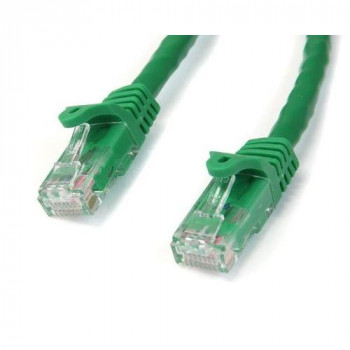 Startech 15m Gigabit Snagless RJ45 UTP Cat6 Patch Cable - Green