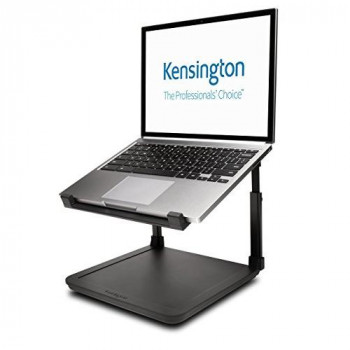 "Kensington Laptop Riser - Ergonomic Laptop Stand (up to 15.6"") with Anti-Skid Design, Security Slot and SmartFit System (K52783WW)"