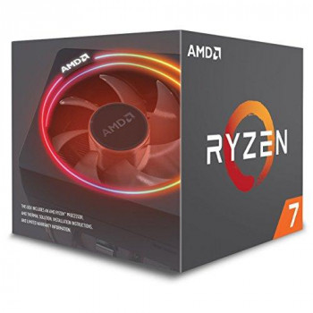 AMD Ryzen 7 2700X CPU with Wraith Cooler AM4 3.7GHz (4.3 Turbo) 8-Core 105W 20MB Cache 12nm RGB Lighting No Graphics