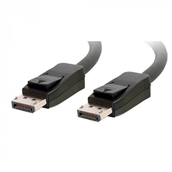 C2G 5m DisplayPort Cable with Latches M/M - Black