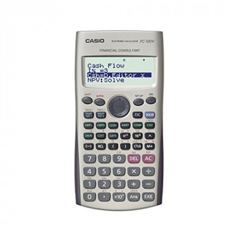 Casio FC100V Financial Calculator, Silver