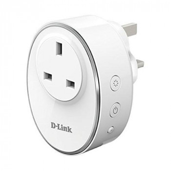 D-Link DSP-W115/B WiFi Smart Plug (Works with Amazon Echo, Google Home Assistant and IFTTT UK Plug Only)