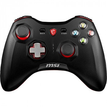 MSI FORCE GC30 Wireless Pro Gaming Controller PC and Android 'PC and Android ready, Upto 8 hours battery usage, adjustable D-Pad cover, Dual vibration motors, Ergonomic design' - S10-43G0030-EC4