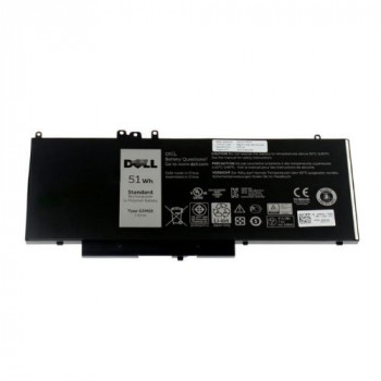 Dell 451-BBLL 4 Cell 51 W Primary Laptop Battery for Latitude 12 Rugged Extreme 7204/E5450/E5550, Black