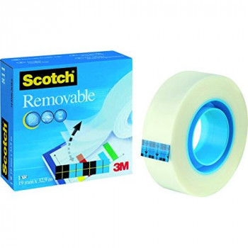 Scotch Removable Magic Tape 19mm x 33m REF 8111933