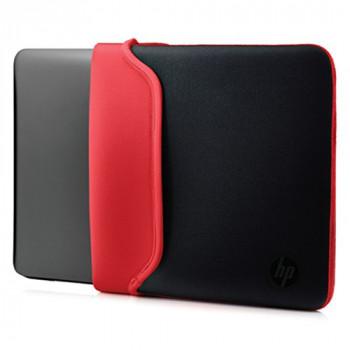 """HP 15.6"""" Neoprene Sleeve Black/Red 15.6"""" Sleeve Black,Red - notebook cases (Sleeve, Black, Red, Monotone, Neoprene)"""