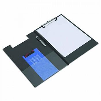 Rapesco Clipboard - A4 / Foolscap, Foldover, Black