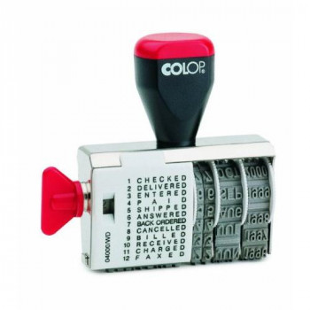 Colop 04000/WD Dial-A-Phrase-Dater Ref 42024000