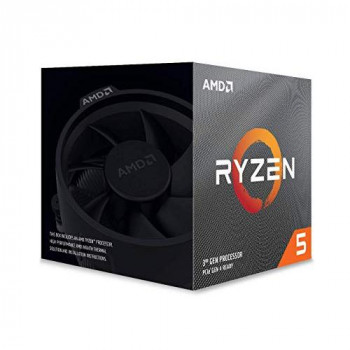 AMD Ryzen 5 3600XT Processor (6C/12T, 35MB Cache, Up to 4.5 GHz Max Boost) With Wraith Spire Cooler
