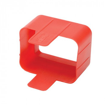 Tripp Lite C20 Plug Lock Inserts - Red (Pack of 100)