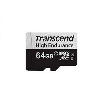 Transcend 64GB microSDXC 350V High Endurance Memory Card