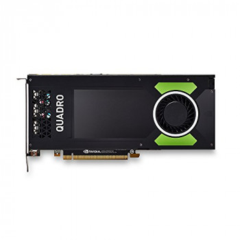 PNY NVIDIA Quadro P4000 4x DP 8 GB GDDR5 PCI Express Professional Graphic Card - Black
