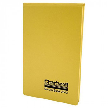 Exacompta Chartwell Dimensions Survey Book, 106 x 165 mm, Lined, Numbered